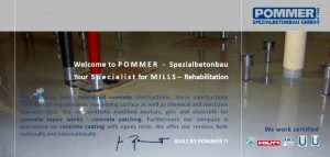 Flyer of our activities in different mills